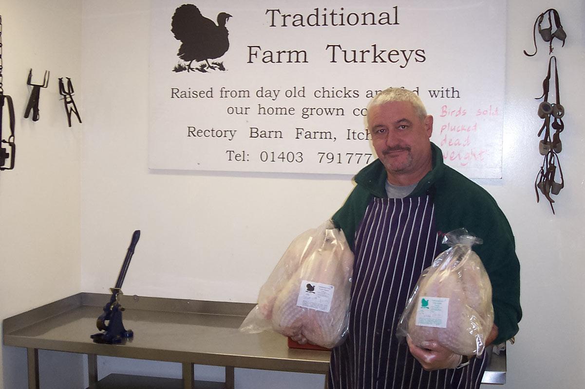 Packed Free Range Turkey